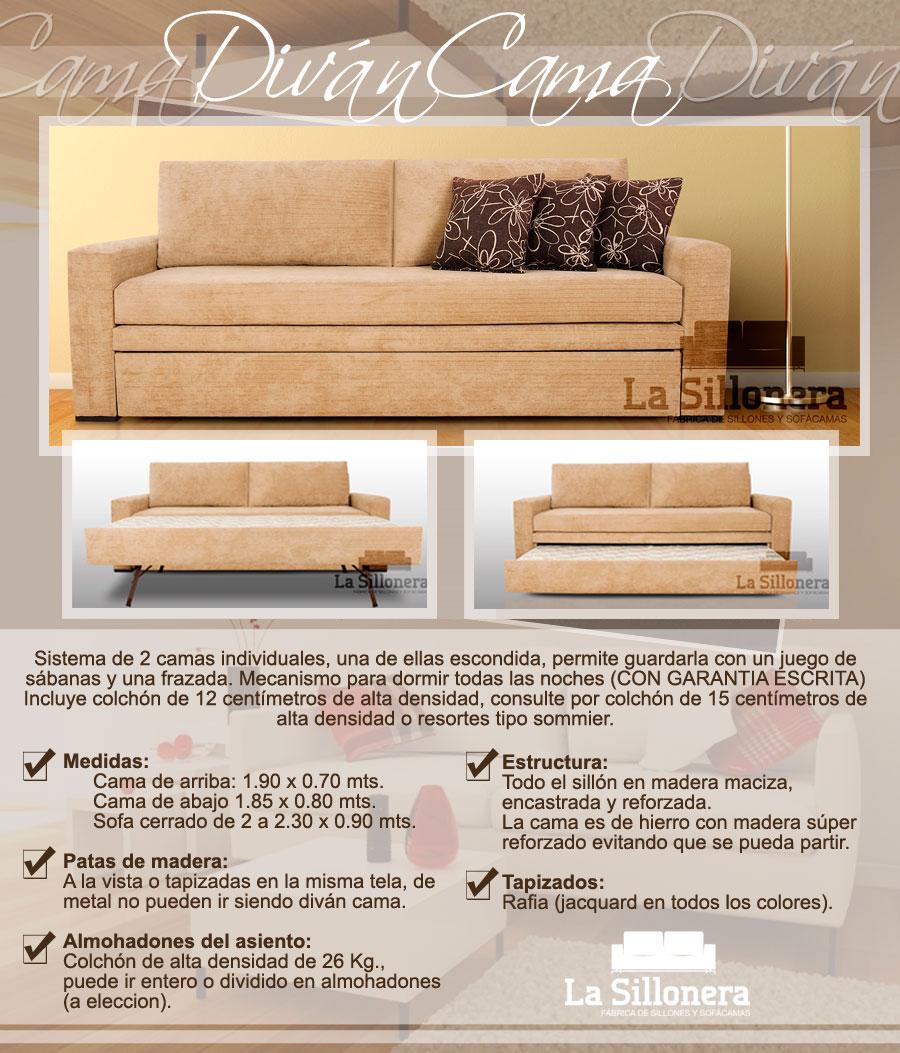 Divan cama varios modelos 2 camas la mejor calidad - El mejor sofa cama del mercado ...